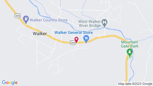 West Walker Motel Map