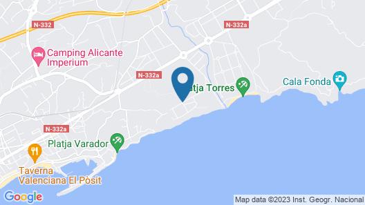 Terramar Apartments - Marholidays Map