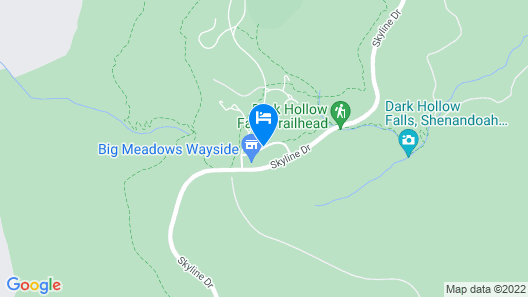 Big Meadows Lodge Map