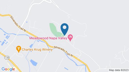 Meadowood Napa Valley Map