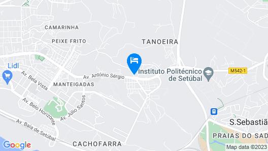 Sport Hotel A Seleção Map