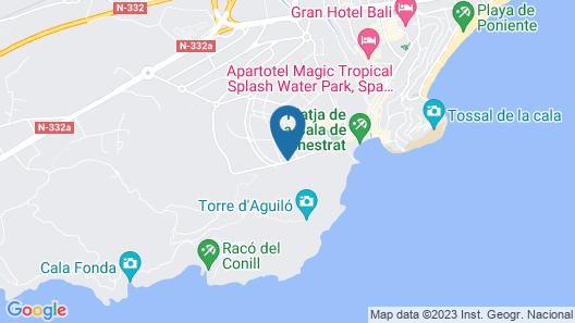 Ballesol Costablanca Senior Resort mayores de 55 Map