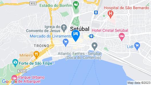Hotel Bocage Map