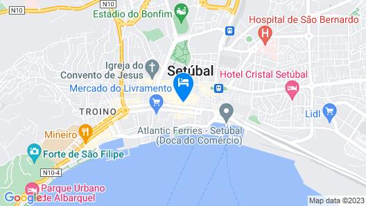 Luna Esperança Centro Hotel Map