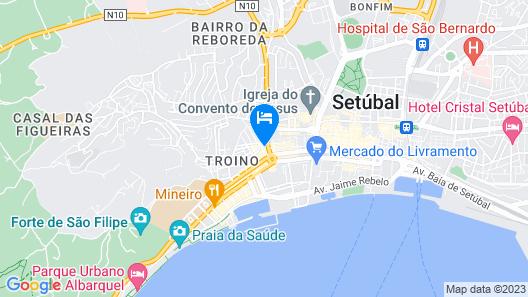 Hotel Solaris Map