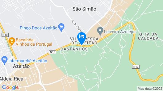 Hotel Club D'Azeitão Map