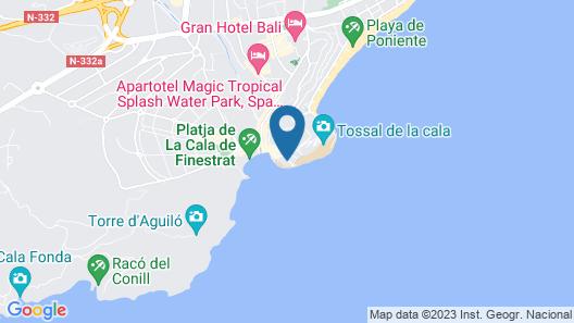 Atico Suite Ola Blanca Map