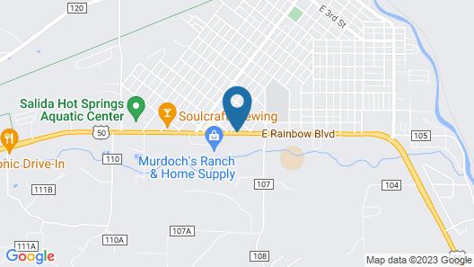 Circle R Motel Map