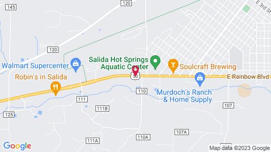 Salida Inn & Monarch Suites Map