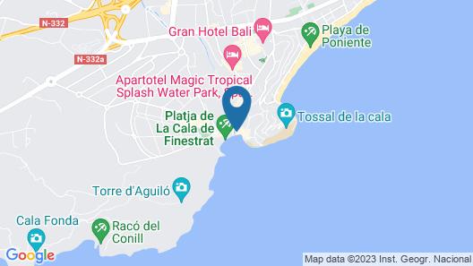 Hotel La Cala Map