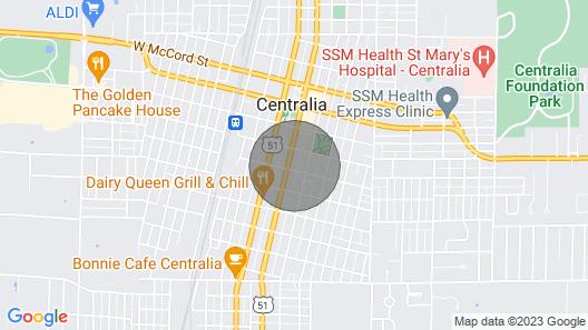Copperfield Estate - Centralia, IL Map