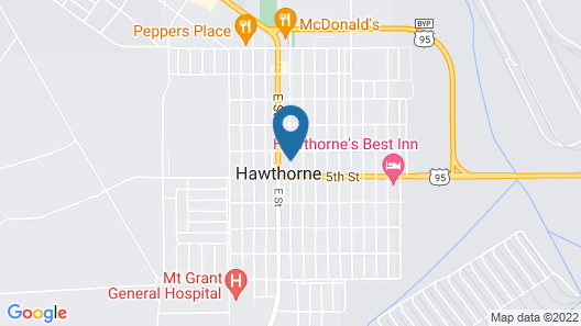 Travelodge by Wyndham Hawthorne Map
