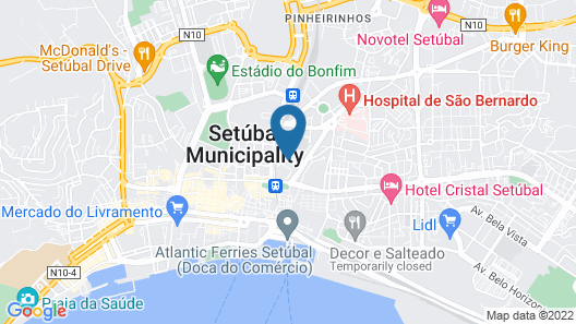 Hotel Aranguês Map