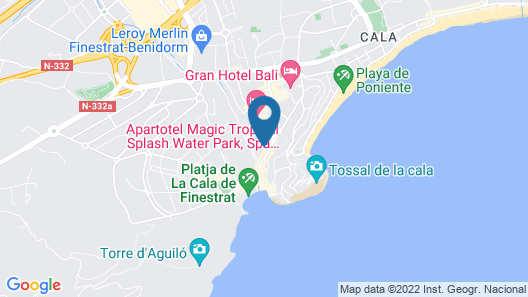 Residencial Cala Sol by Sonneil Rentals Map