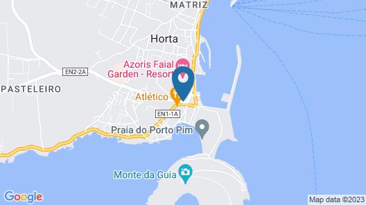 Apartamentos Príncipe Apart-Center Map