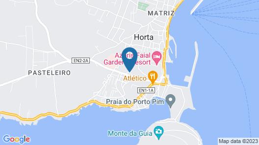 Hospedaria JSF Map