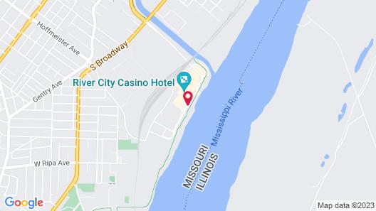 River City Casino & Hotel Map