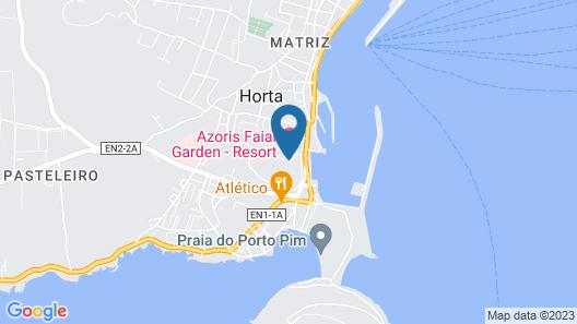 Azoris Faial Garden Map