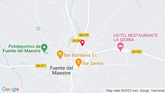 HOTEL RESTAURANTE LA SIERRA Map