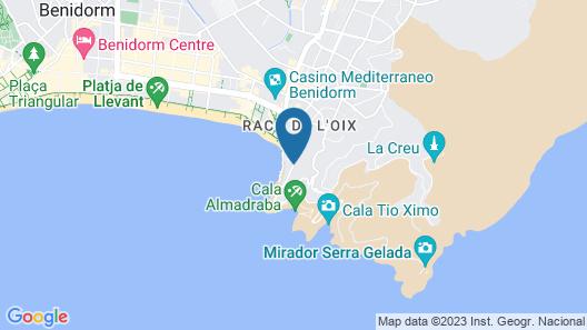 Hotel Benikaktus Map