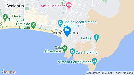 Magic Aqua Rock Gardens Map