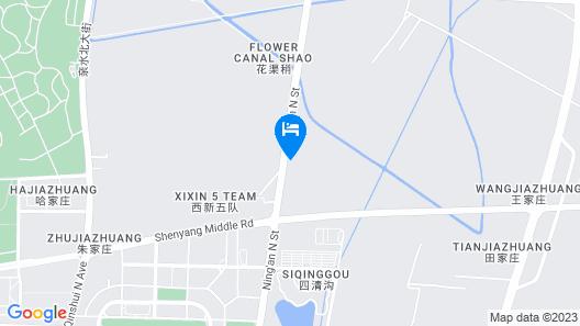 Sheraton Yinchuan Map
