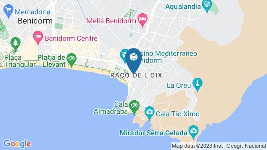 Port Benidorm Hotel & Spa Map