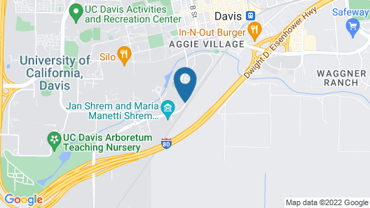 Hyatt Place UC Davis Map