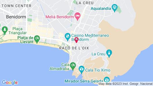 Aparthotel BCL Levante Beach Map
