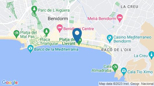 Los Ranchos Levante Apartment Map