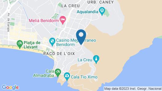 Apartamentos Turísticos Don Jorge - Includes Tickets to Mundomar & Aqualandia Parks Map