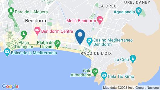 Apartamentos Viña del Mar Map