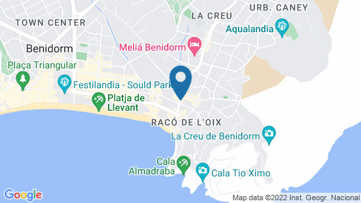 Hotel Servigroup Nereo Map