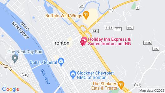 Holiday Inn Express & Suites Ironton, an IHG Hotel Map
