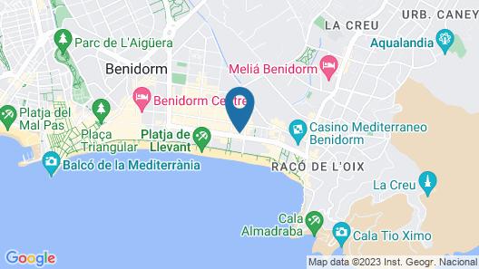 Don Pancho Map