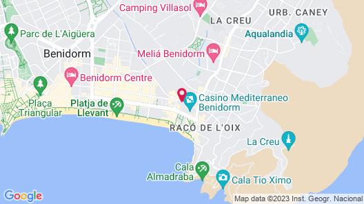 Sol Pelícanos Ocas Map