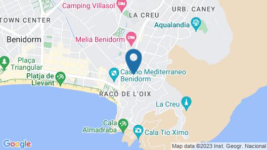 Apartamento Bermudas 814 Map