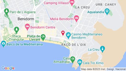 Magic Villa Benidorm Map
