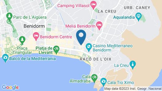 Flash Hotel Map