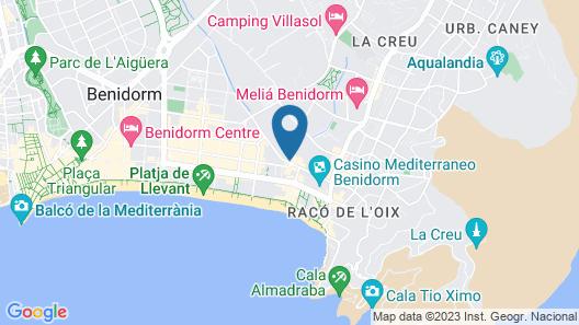 Hotel Servigroup Calypso Map