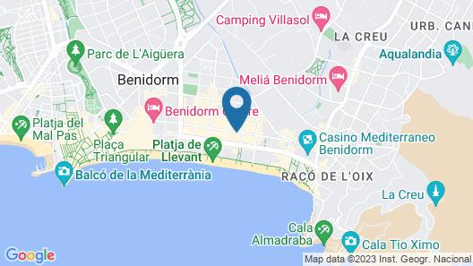 Torre Gerona Map