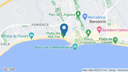 H10 Porto Poniente Map