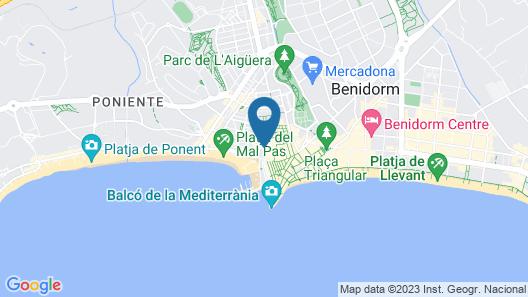 Apartamentos La Rosita Map