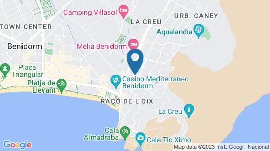 Hotel Gala Placidia Map