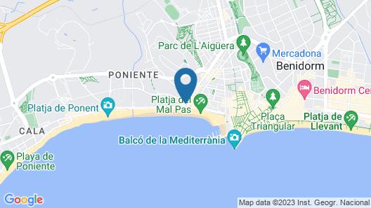 Hotel RH Corona del Mar Map