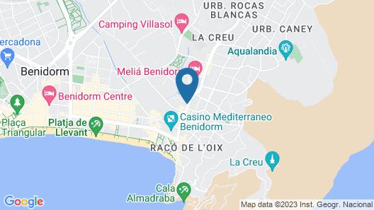 Gemelos 22 Map