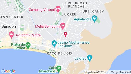 La Siesta Map