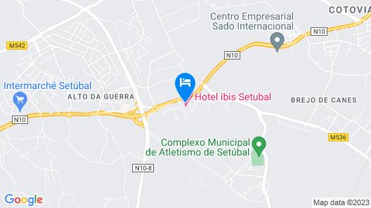 ibis Setubal Map