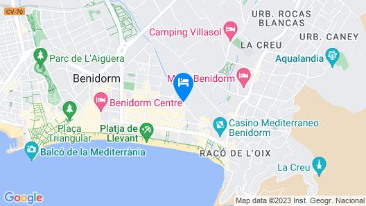 Apartamentos Primavera Loix Map