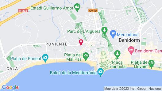 Hotel Benilux Park Map